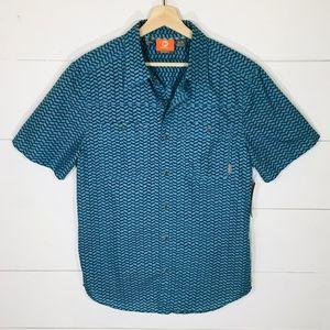 MERRELL Selectwick Coolmax Button Shirt SS MEDIUM